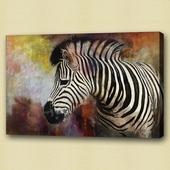 Zebra schilderij | schilderijen kopen | afrika | dieren
