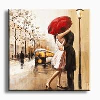 Liefde schilderij love is in the air