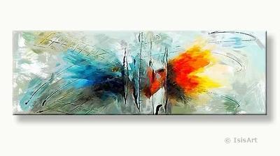 transformatie - moderne kunst schilderijen