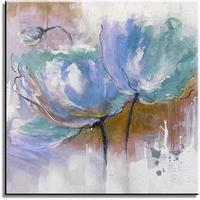 modern geschilderd bloemen schilderij