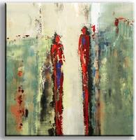 rode schimmen figuratief schilderij